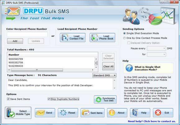 Free Bulk SMS