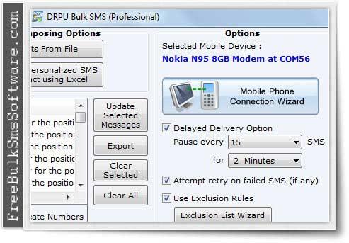 Free Bulk SMS Software